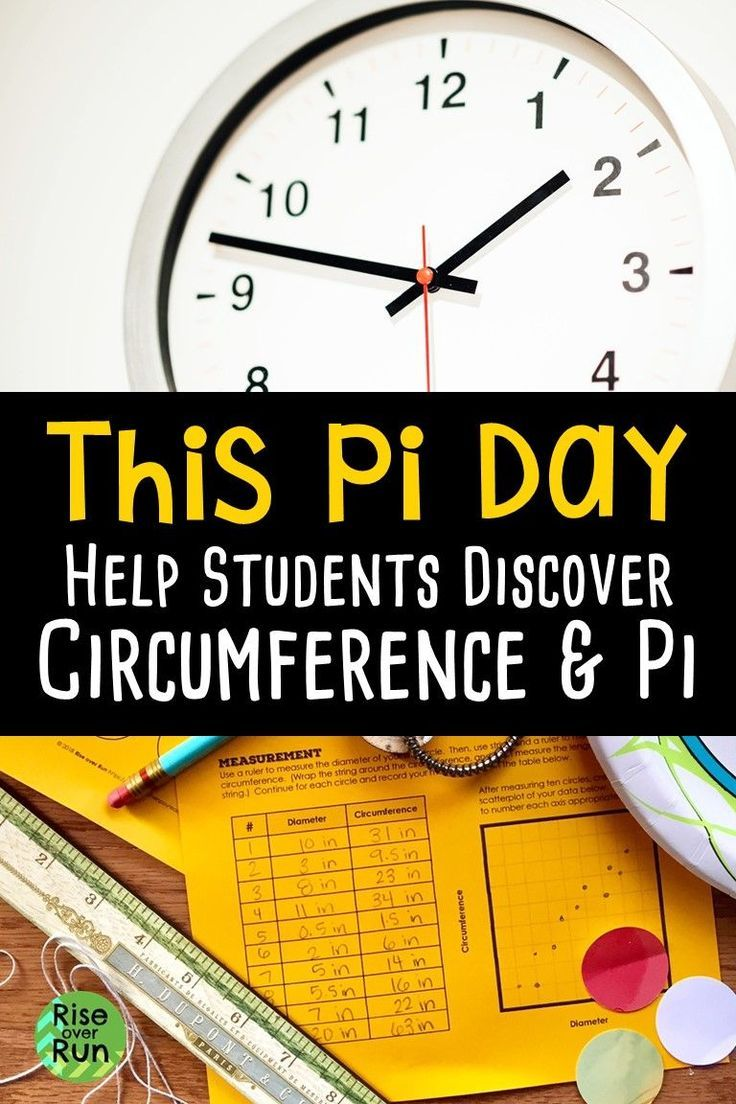 Pi Day Help Students Discover Circumference And Pi Math Lesson Plans Elementary Math Lesson Plans Holiday Math Activities