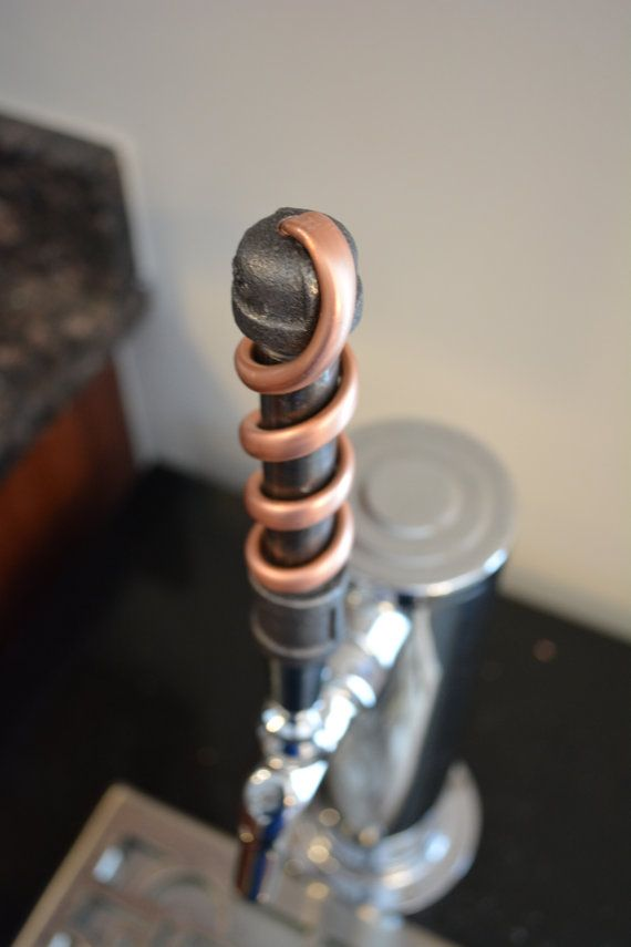 13 best tap handles images on pinterest beer craft beer and iron copper pipe beer tap handle copper industrial tap handle sciox Gallery