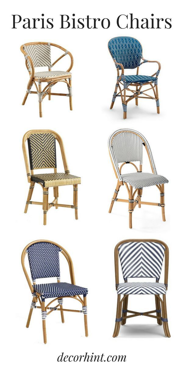 The Best Paris Bistro Chairs For Your Home Paris Bistro Chairs Paris Bistro Parisian Bistro Chairs