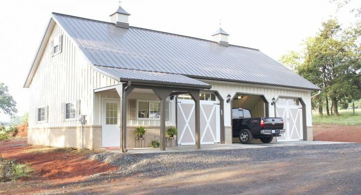 Best 25 steel garage ideas on pinterest steel garage for Garage packages edmonton