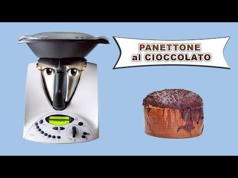 Le ricette animate del Bimby - Panettone al cioccolato - YouTube