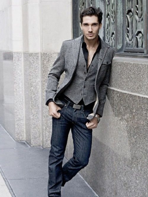 jeans. vest. jacket ( #denim #mens ) ✌eace | H U M A N™ | нυмanACOUSTICS™ | н2TV™