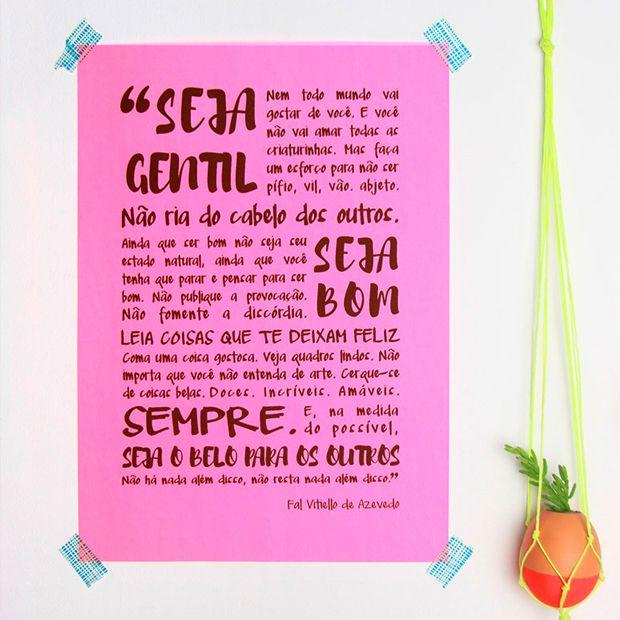 Pôsteres tipográficos para baixar, de graça imprimir e decorar. - Download Free!