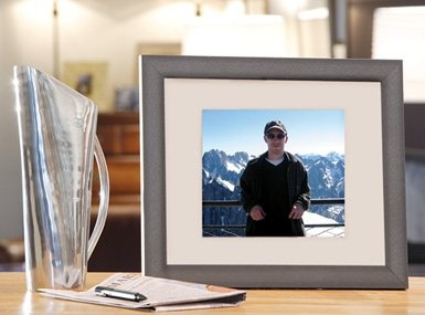 How to take an old rotting laptop, and turn it into a wireless photo frame. Pretty neat!