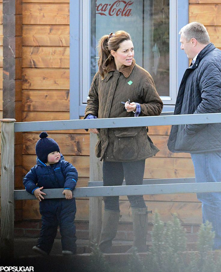 Kate Middleton And Prince George S Petting Zoo Day Is