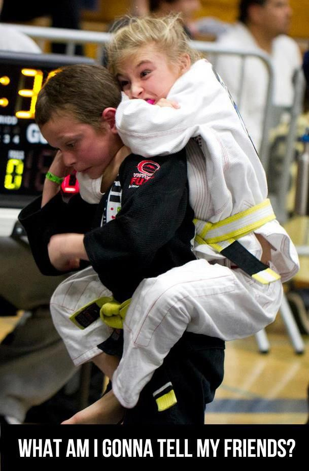 Every little girl in the world should train BJJ!!!
