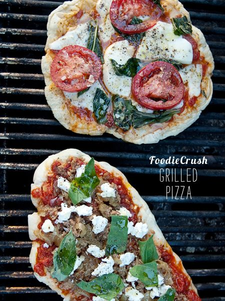 Grilled Pizza - looks delicious!