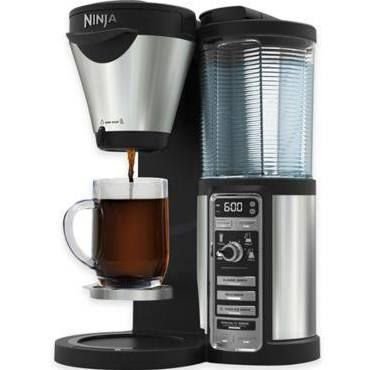Ninja Coffee Bar Brewer Cf082 With 43 Oz. Glass Carafe With Stainless Steel from JC Penney, QVC, or Bed, Bath, & Beyond