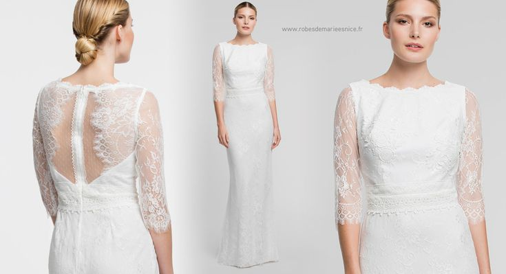 ... de Robes de mariées bohème chic - Caralys Nice sur Pinterest  Nice