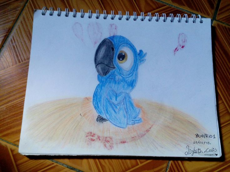 Este fue uno de mis primeros dibujos...por cierto tengo 12 años y este dibujo lo hice a los 10 años.