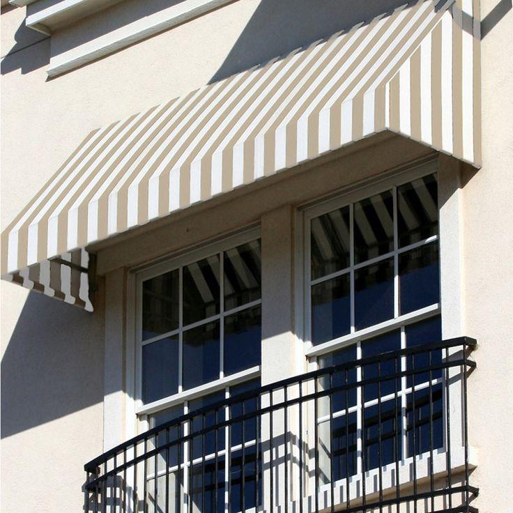 Awntech Beauty-Mark New Yorker 4 ft. Window/Door Awning | from hayneedle.com