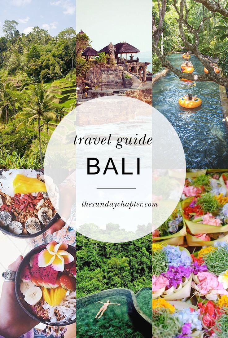 your ultimate guide to #BALI