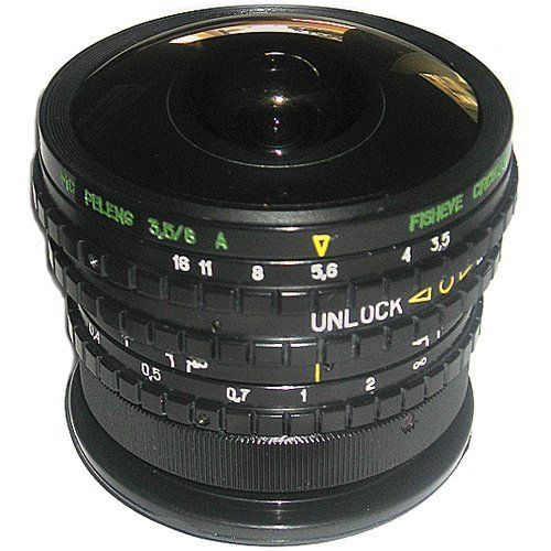 Belomo MS Peleng 3.5/8mm Fisheye Lens for Canon EOS Cameras - New for only $279.00 You save: $320.95 (53%) + Free Shipping