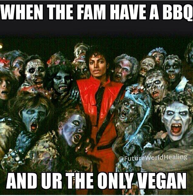 Only a vegan would understand.