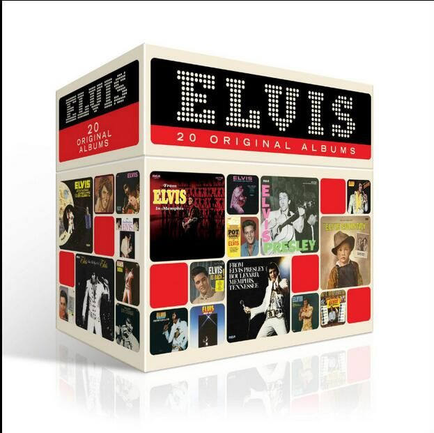 >> Click to Buy << Free Shipping; New Year's gift; Elvis Presley ELVIS 20 ORIGINAL ALBUMS Elvis Presley Complete Collection 20CD Christmas Gift Box #Affiliate