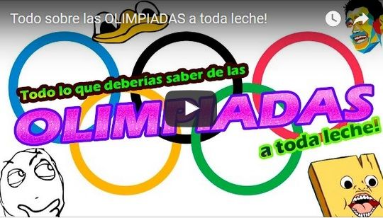 Resumen de Historia de las olimpiadas a toda Leche