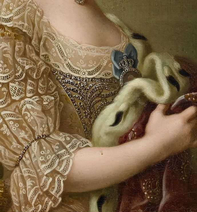 Portrait of Sophia Magdalena of Denmark, artist unknown.