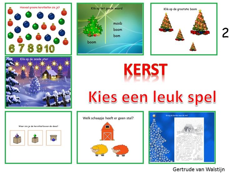 Digibordles kerst voor groep 1 en 2 http://leermiddel.digischool.nl/po/leermiddel/f5d9140b272111f53044c4f94a600697?s=2.0