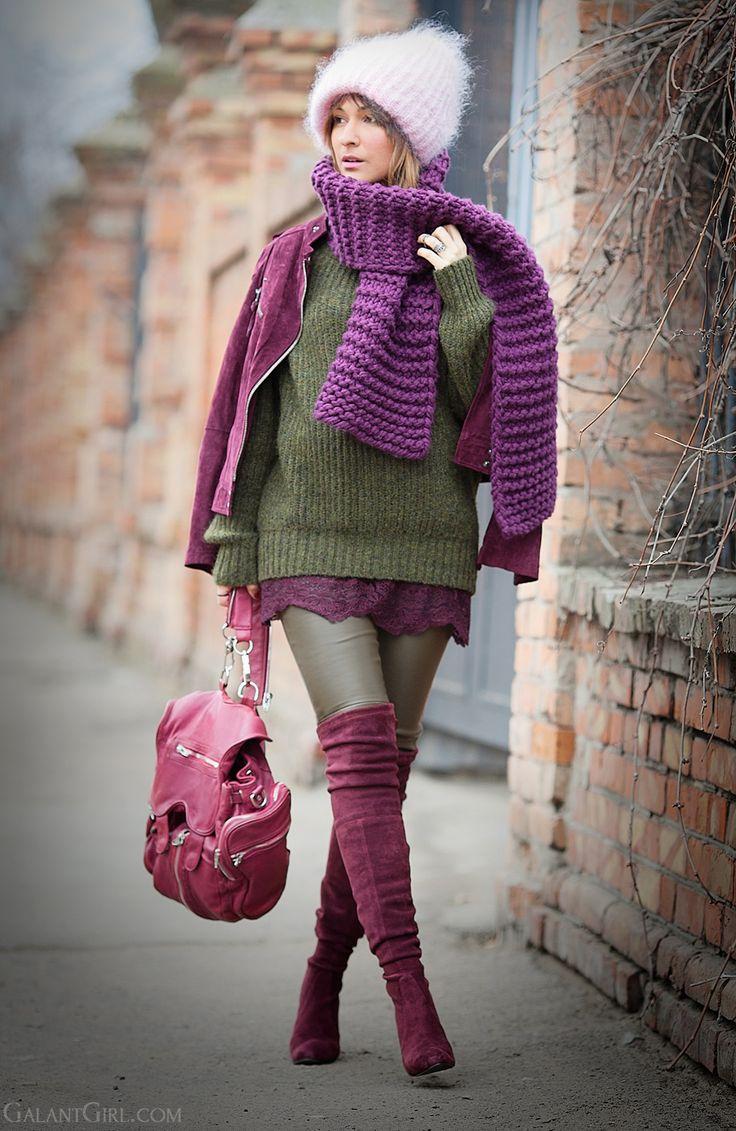 diana broussard necklace, tak.ori beanie, galant girl, alexander wang backpack, stuart weitzman, stuart weitzman over the knee boots,