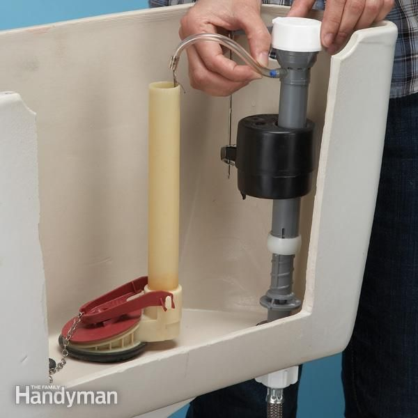 How to Stop a Running Toilet - The Top 10 Plumbing Fixes: http://www.familyhandyman.com/plumbing/the-top-10-plumbing-fixes