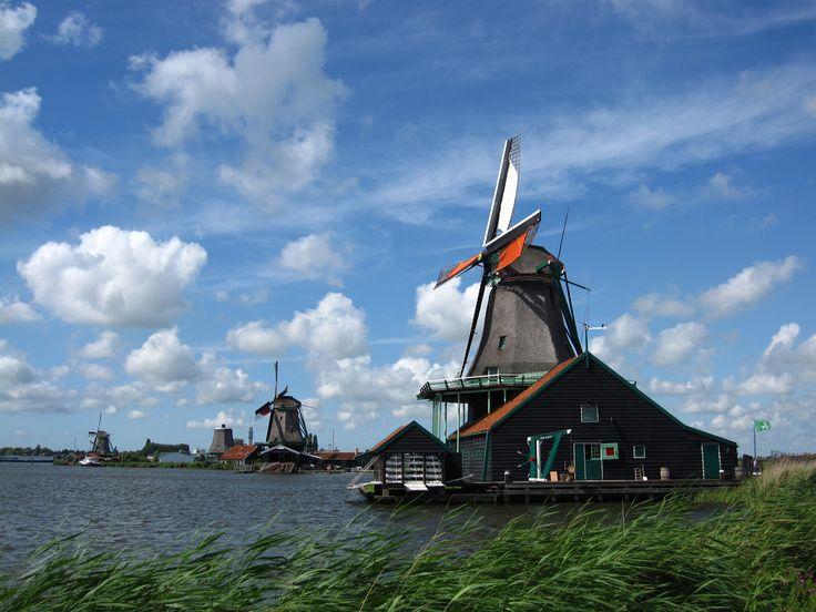 Zaanse Schans, the Netherlands. Photo credits : Ingrid Jonkers.
