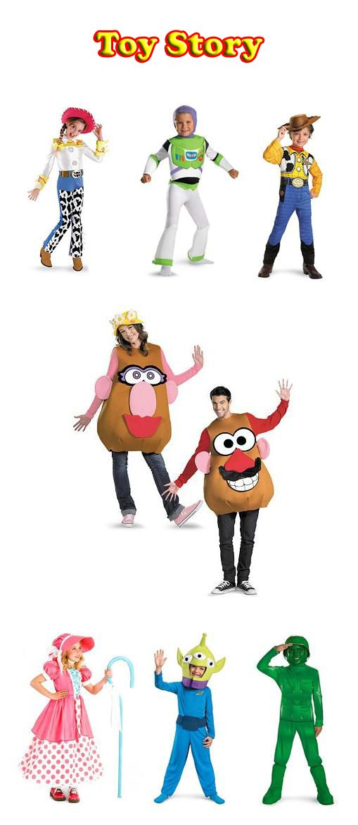 Toy Story costumes: Every purchase earns a donation.