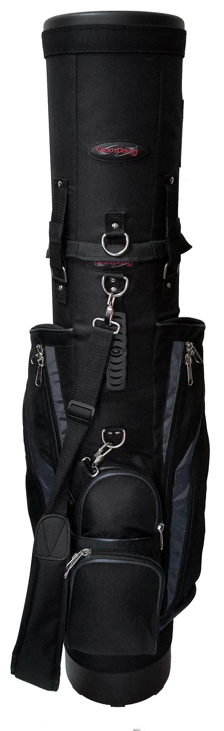CaddyDaddy Golf Co-Pilot Pro 2 Hybrid Travel Case (Black/Grey)