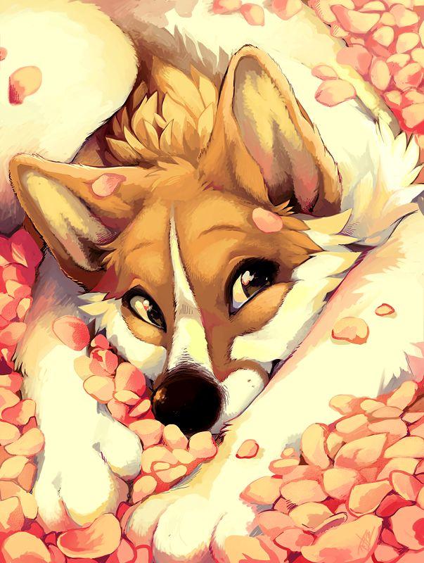 Petals by *JENIAC on deviantART #Art #AnimalArt