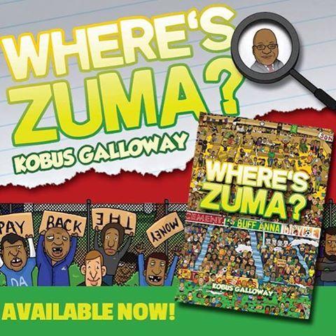 My nuutste boek, Where's Zuma?, tref hierdie maand die winkelrakke!  Maar jy kan solank die eBook weergawe optel vir slegs R10!  Kliek hier: http://bit.ly/1kOpOO7  #zuma #whereszuma #book #ebook