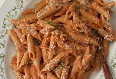 Penne Alla Vodka  Recipe from Now Eat This! by Rocco DiSpirito