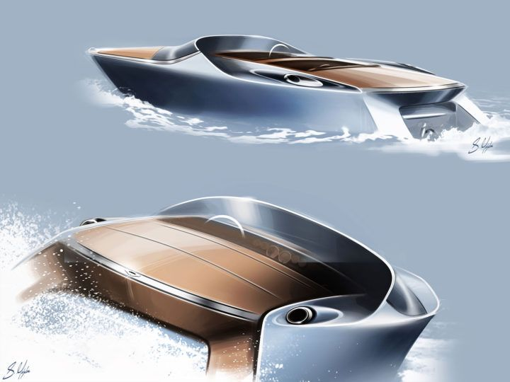Aston Martin Powerboat New Images And Updates Boat Pinterest