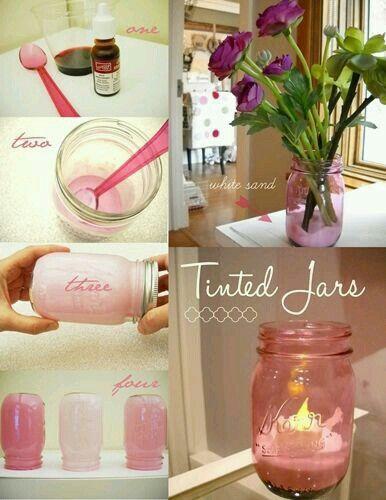 Tinted jars