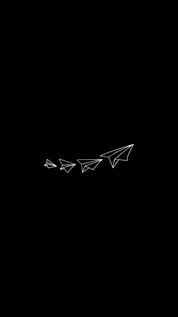 Fly Away Fly Black Wallpaper Dark Wallpaper Tumblr Wallpaper