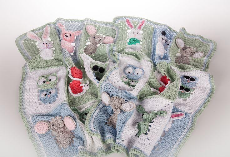#koukkujapuikko #hookandneedle #handwork #virkkaus #crochet #vauvanpeitto #eläinpeitto #dropsdesign