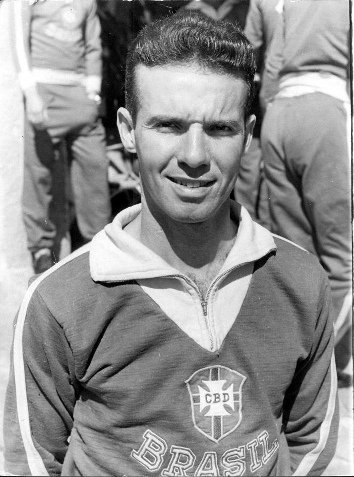 MÁRIO JORGE LOBO ZAGALLO, durante a Copa de 1962 no Chile.