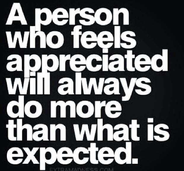 Appreciate everyone in your life. Each is there to teach you something!