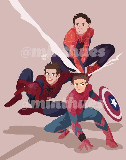 I love how people keep drawing all three of them together.