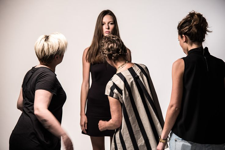 Brian Dales #Italian Style  FW2015/16 Collection  #woman #backstage #attitude.