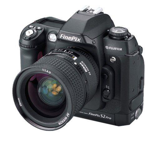 Fuji FinePix S2 Pro Professional Digital Camera [6.1MP] – Body Only