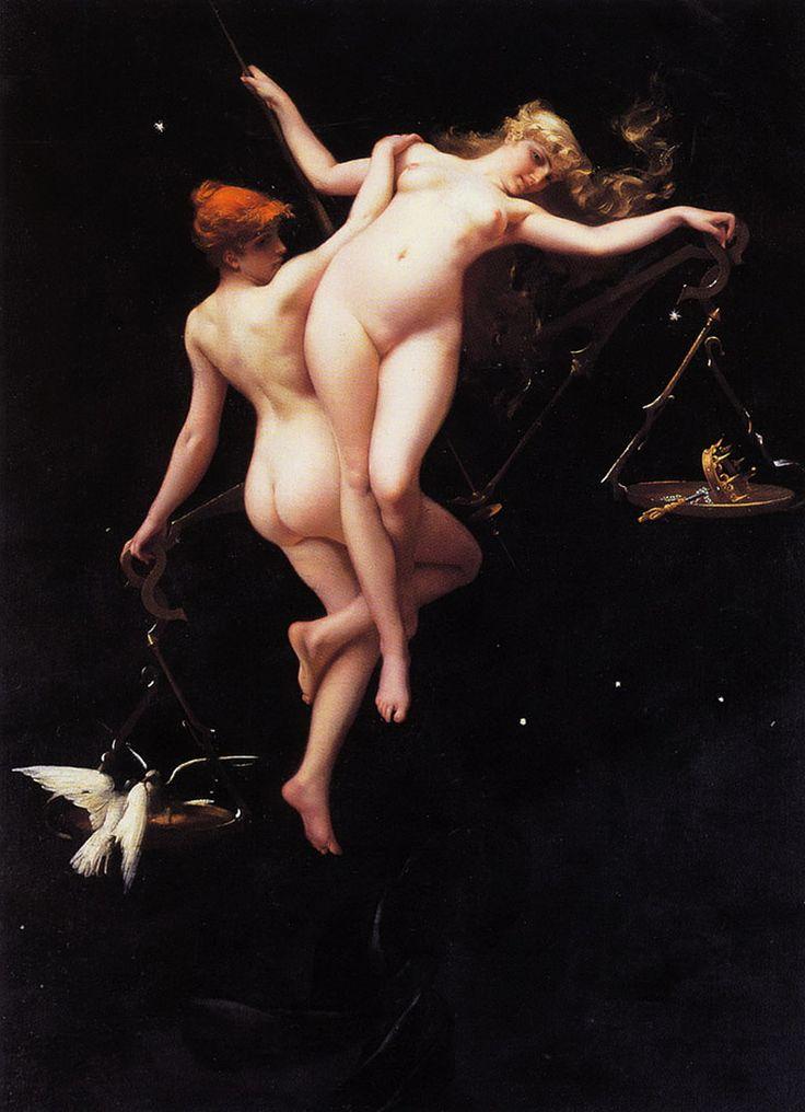 The Balance of the Zodiac - Испанский художник Луис Рикардо Фалеро.