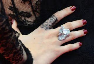 Supermodel Cara Delevingne's Lion tattoo
