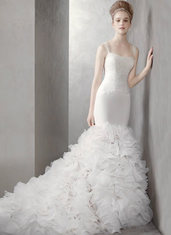 Vera Wang Mermaid Gown 2012David Bridal, Verawang, Vera Wang, Wedding Dressses, Davids Bridal, Dresses, White, Mermaid Gowns, Lamborghini