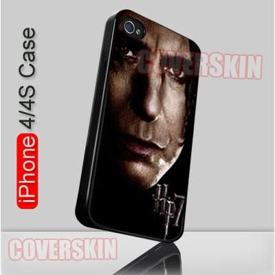 Alan Rickman in Harry Potter and the Deathly Hallows iPhone 4 or 4S Case Cover