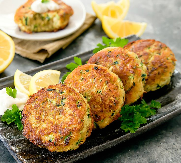 "Zucchini ""Crab"" Cakes"