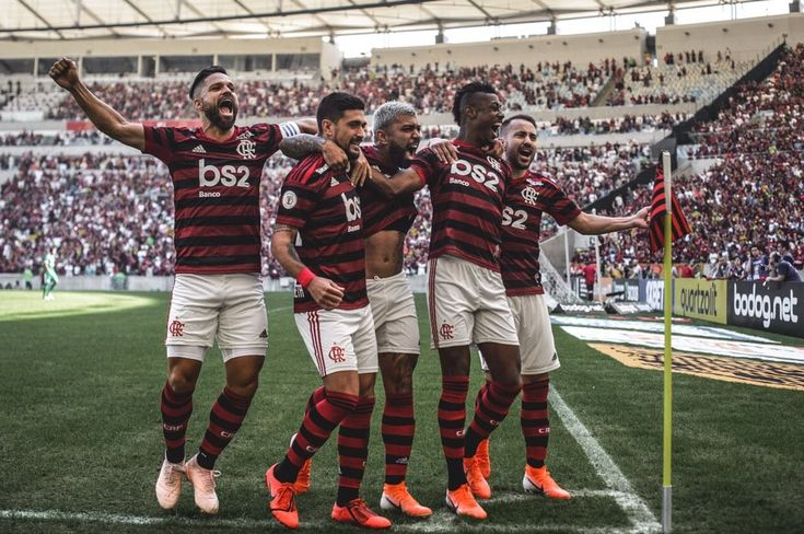 Gabigol, Arrascaeta, Bruno Henrique, Diego Ribas, Everton