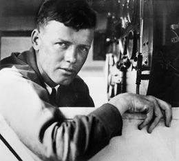Charles Lindbergh - first nonstop solo flight across the Atlantic Ocean 5/20-21/1927 ... from charleslindbergh.com