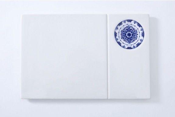 Royal Delft dip plate