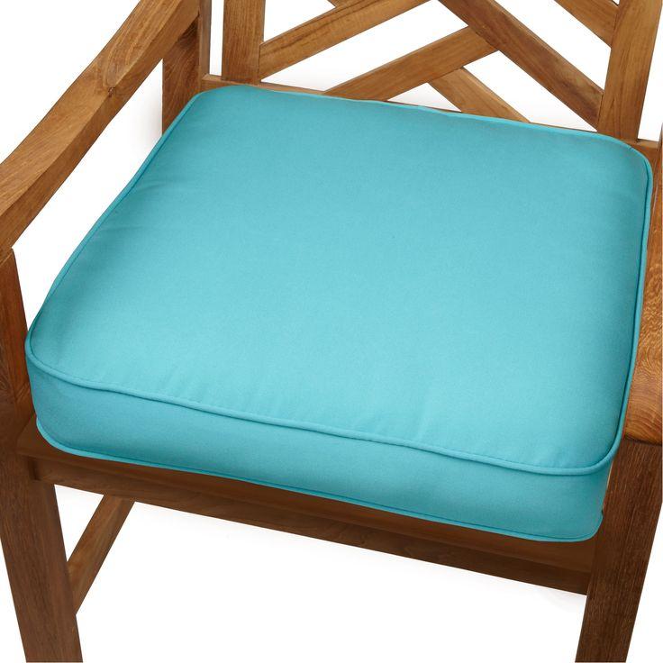 """Aruba Indoor/ Outdoor 19"""" Chair Cushion with Sunbrella Fabric"""