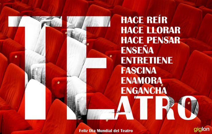 Día Mundial del Teatro. 27 de Marzo