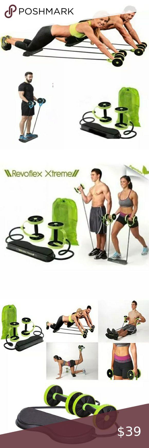 Revoflex Xtreme Abdominal Workout Kit Abdominal Exercises Workout Daily Workout